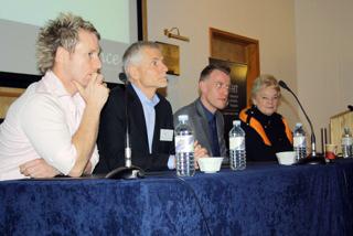 On The Panel at a Seminar